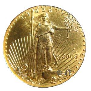 Gold Liberty Coin